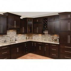 Best Faircrest Espresso Shaker Cabinets Sku Cl0051 In 2020 400 x 300