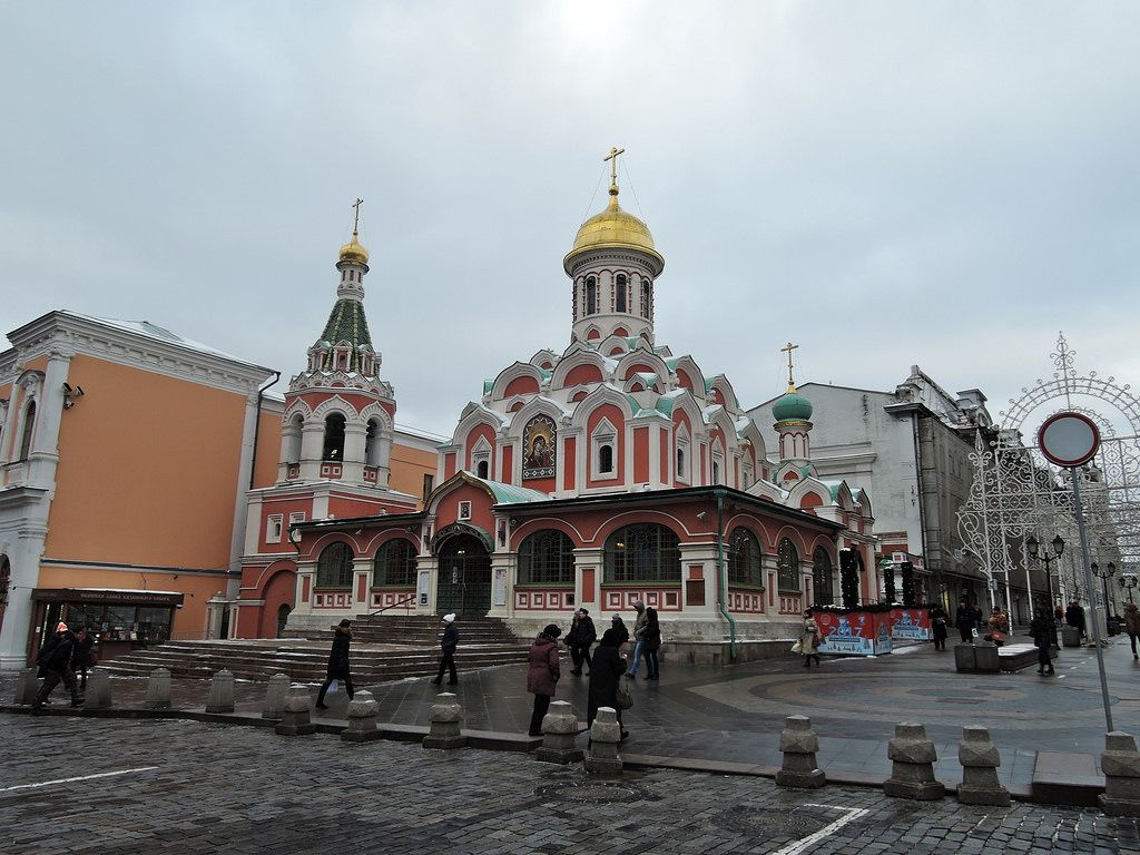 Казанский собор на Красной площади | Соборы