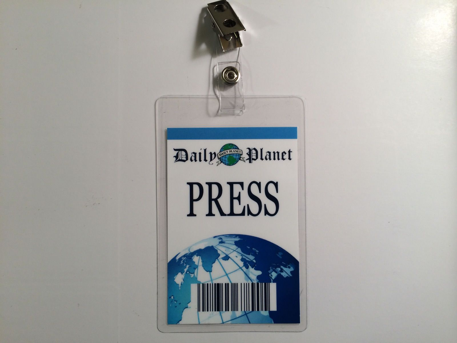 photograph regarding Clark Kent Press Pass Printable known as Clark Kent Reporter Each day Earth Thrust P - 12 months of Refreshing