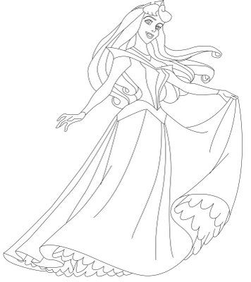 princess sleeping beauty coloring pages Prinsesser Pinterest - copy coloring pages princess sleeping beauty