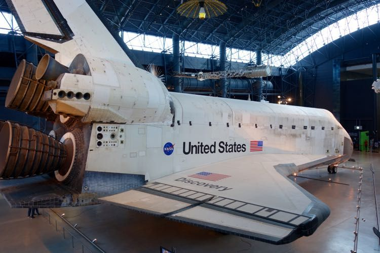 Visit the National Air and Space Museum Udvar-Hazy Center ...