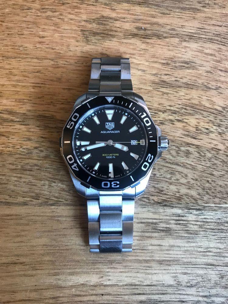 TAG Heuer Aquaracer 300M Model WAY111A.BA0928 | Men Luxury ...