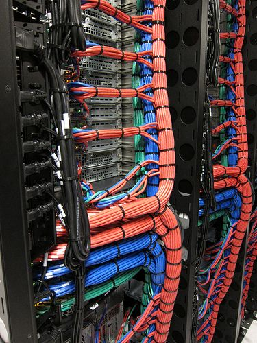 Brilliant Softlayer Server Rack A Server Rack Structured Cabling Network Wiring Digital Resources Funapmognl