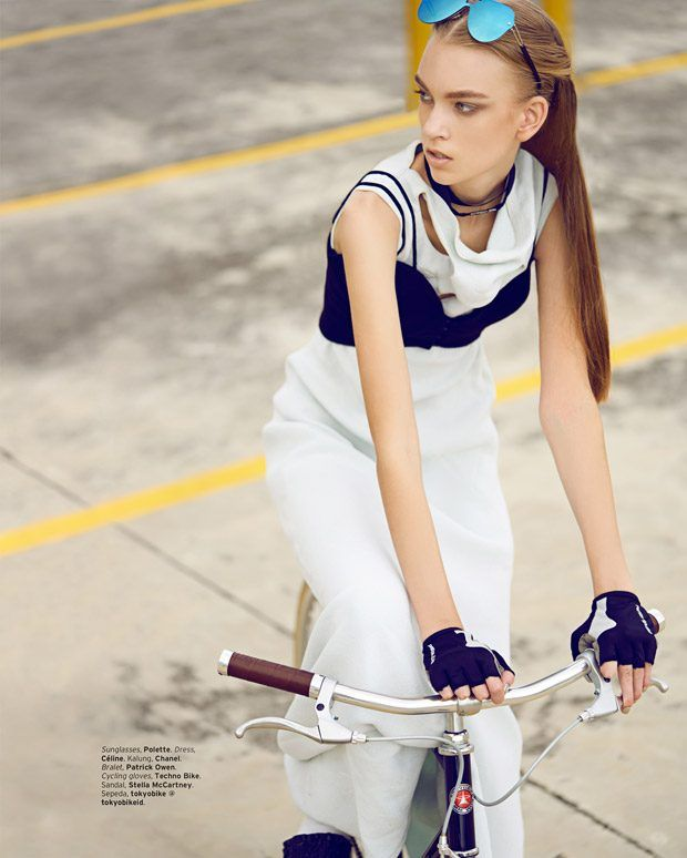 Chick on Speed by Glenn Prasetya for ELLE Indonesia April 2017 Issue ... c7598b06d8