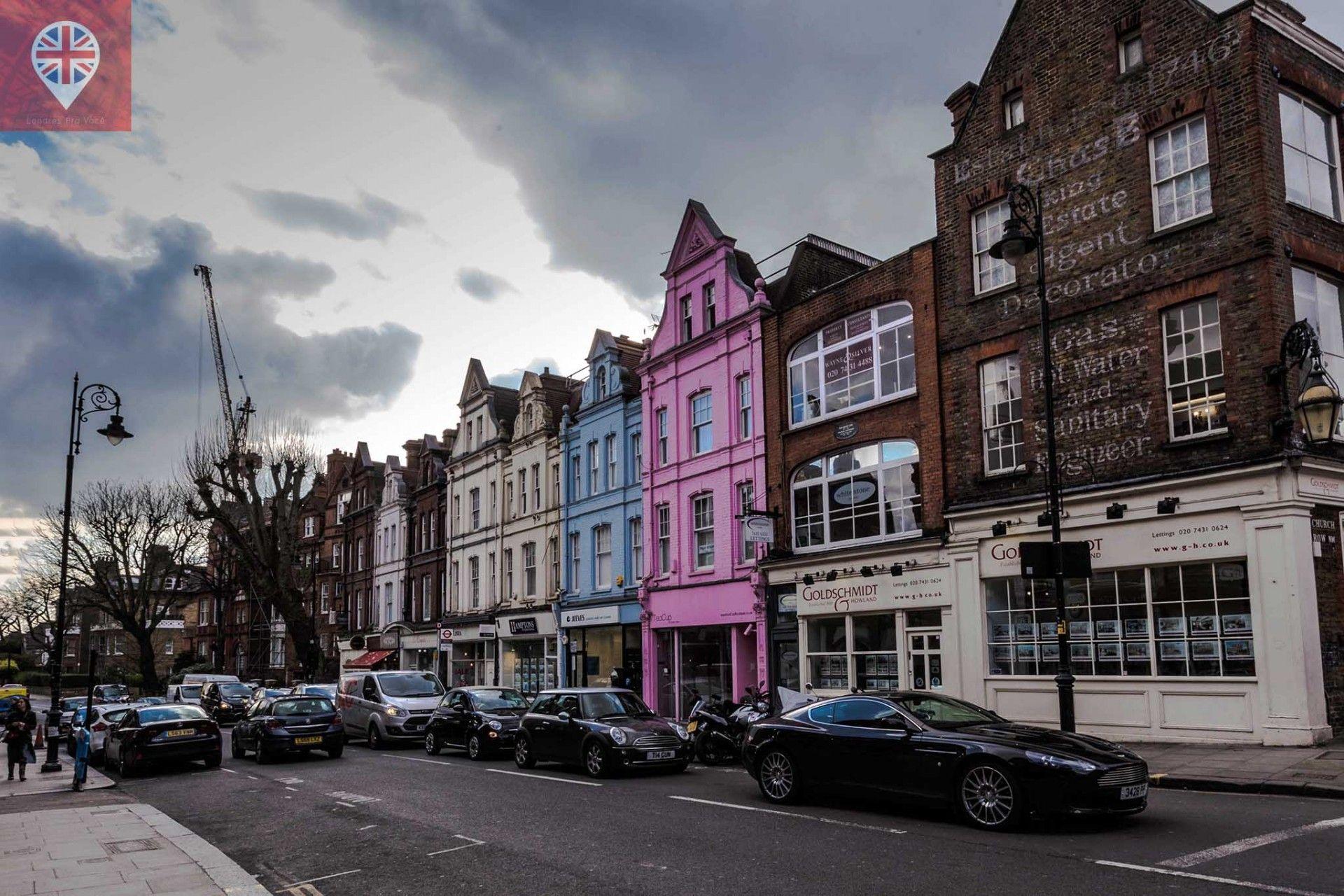 Um bairro encantador e pouco explorado em Londres, Hampstead é um charme com ar de vilarejo