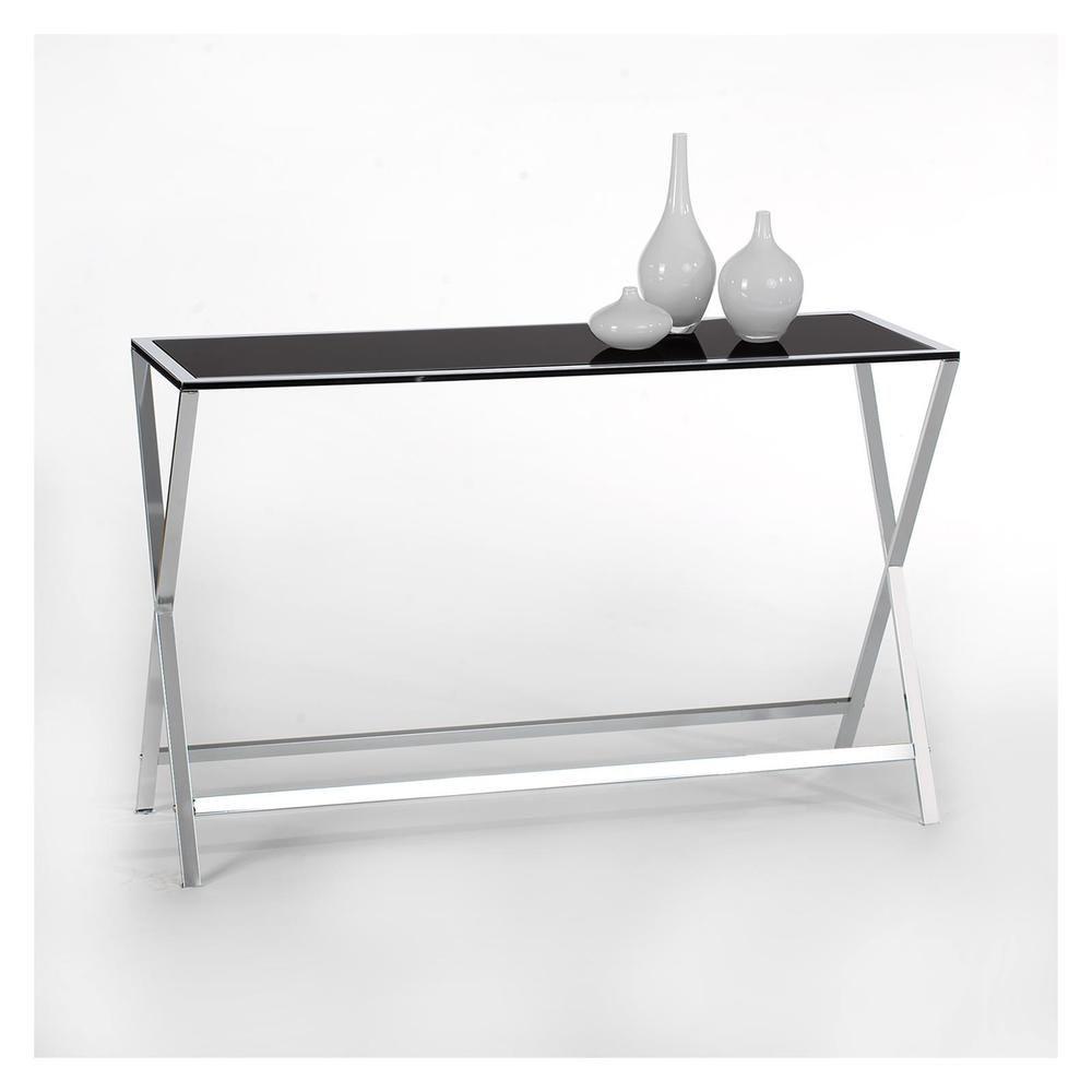Konsolentisch Beistelltisch Wandtisch Mit Glasplatte In Mobel