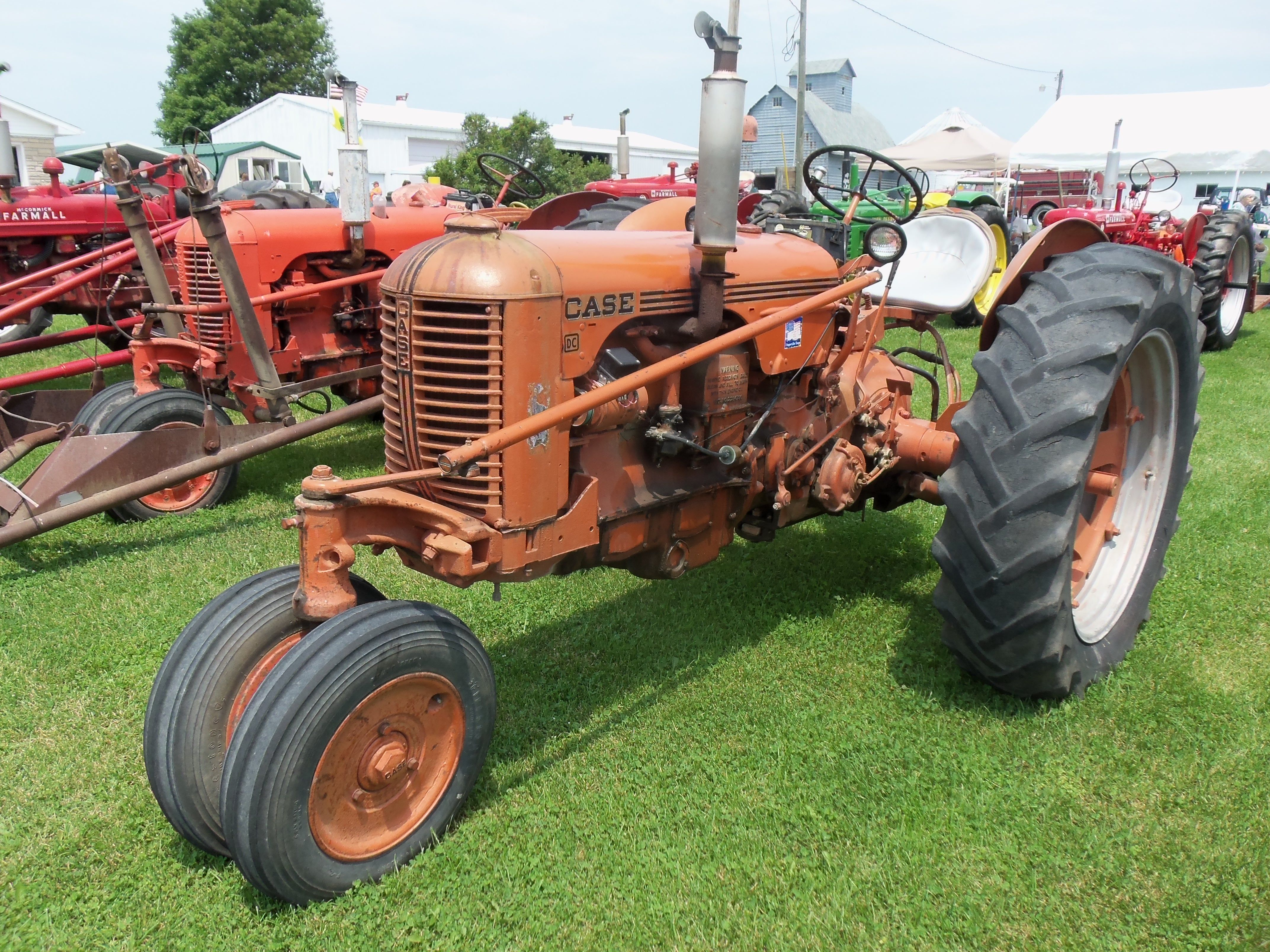 Case dc tractor case tractors tractors vintage tractors