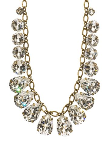 Peared to Perfection Necklace in Crystal Clear by Sorrelli - $235.00 (http://www.sorrelli.com/products/NCR118AGCCL)