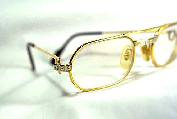 9cb6fd1cb245 Cartier Santos Dumont Aviator Eye Glass by EstateVintTreasures ...