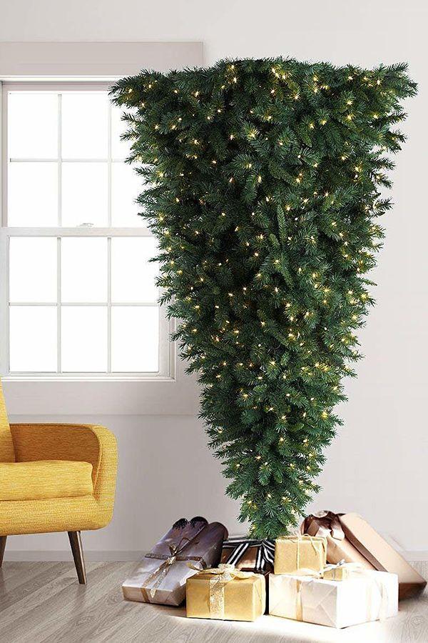 Upside Down Artificial Christmas Tree #Christmas # ...