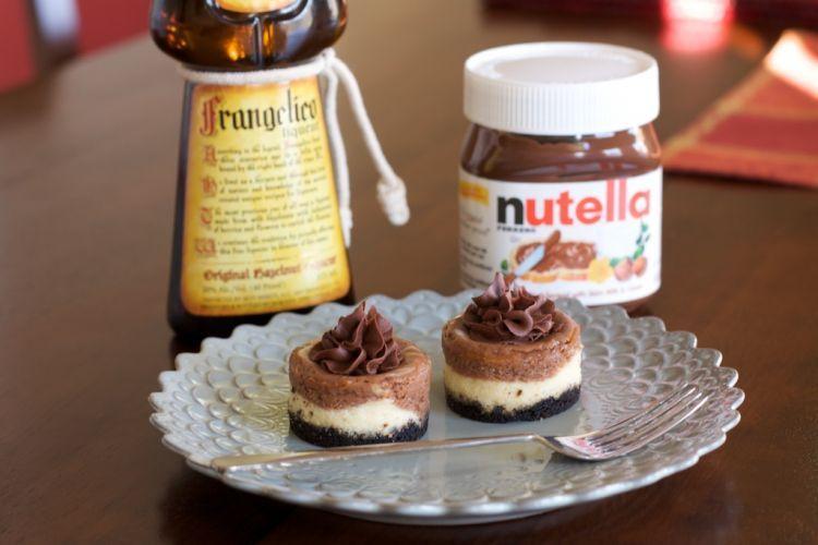 7 Resep No Bake Cake Yang Bisa Kamu Buat Tanpa Menggunakan Oven Cheesecake Bites Mini Nutella Dessert Recipes