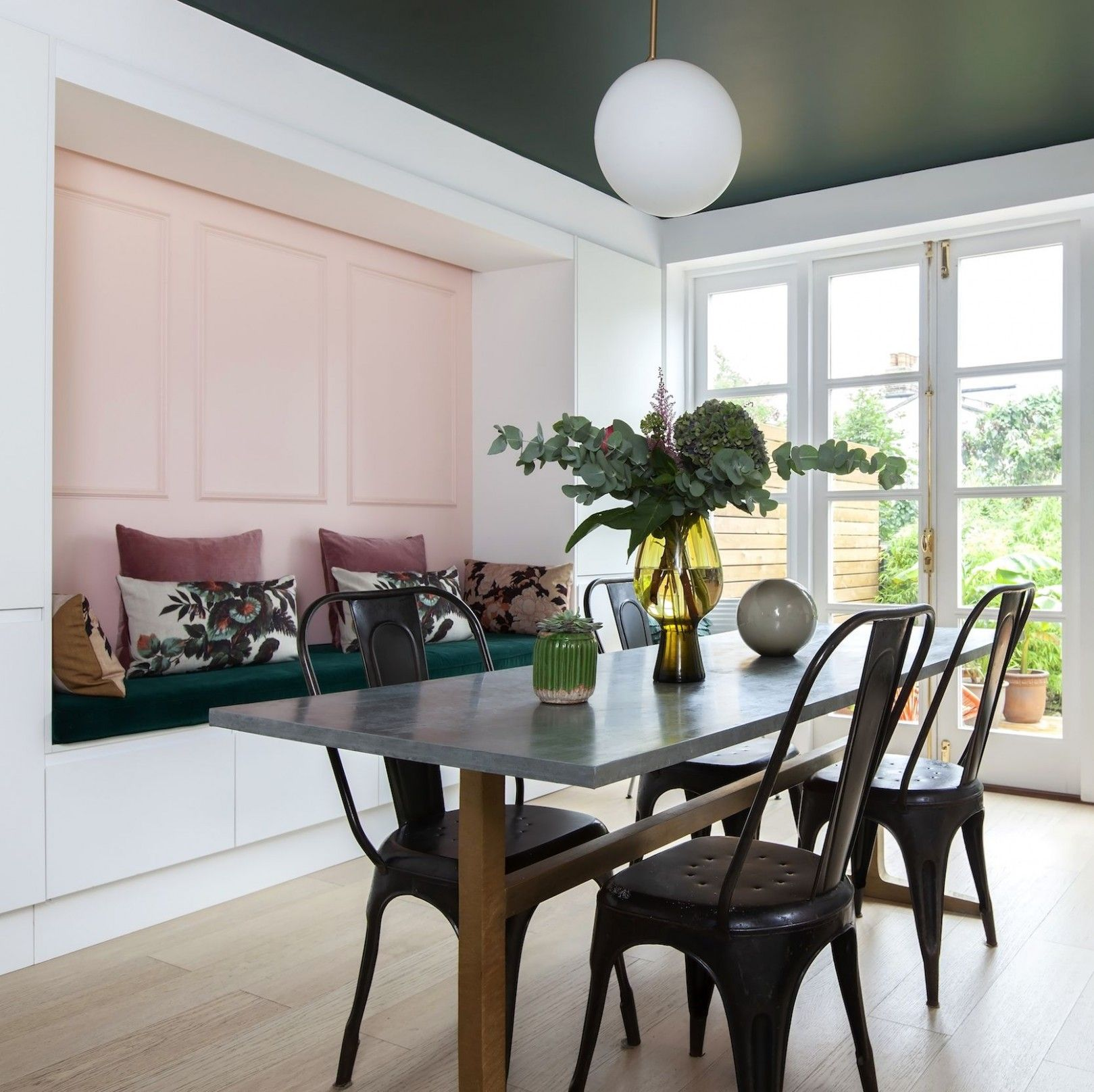 14 Well Formed Kitchen Diner Living Room Ideas In 2021 Dining Room Combo Built In Bench Seating Open Plan Kitchen Diner
