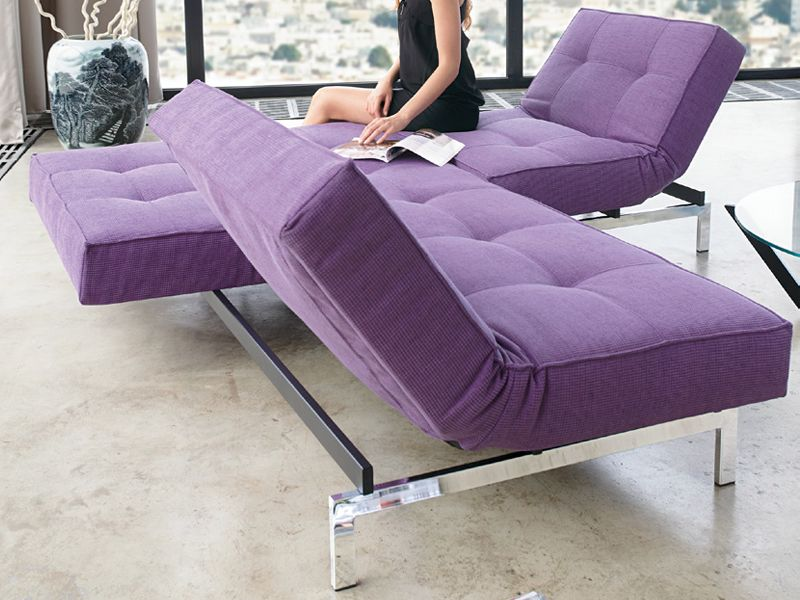 recliner sofa bed splitback | sofa - innovation | purple | pinterest