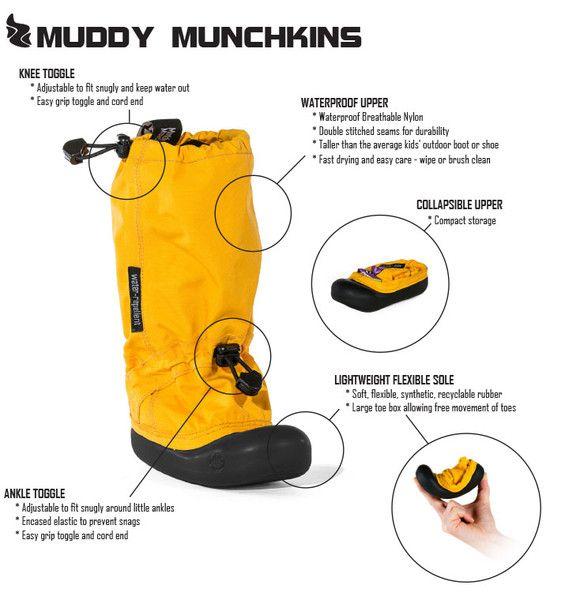 MyMayu - Gray - Waterproof, Lightweight Outdoor Boots