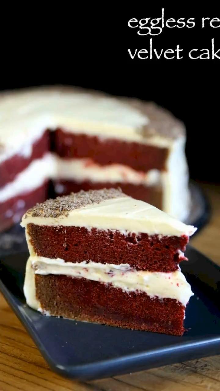 Red Velvet Cake Recipe Easy Moist Eggless Velvet Cake Recipe Video Recipe Video In 2020 Cake Recipes Velvet Cake Recipes Red Velvet Cake Recipe Easy