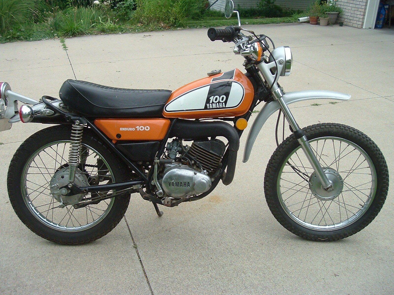 Yamaha Other Vintage Bikes Enduro Motorcycle Yamaha