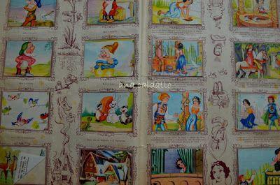 album figurinhas Branca de Neve de 1952