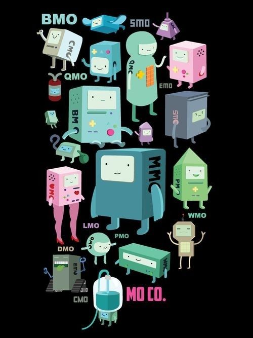Bmo S Family Adventure Time Fan Art With Images Adventure
