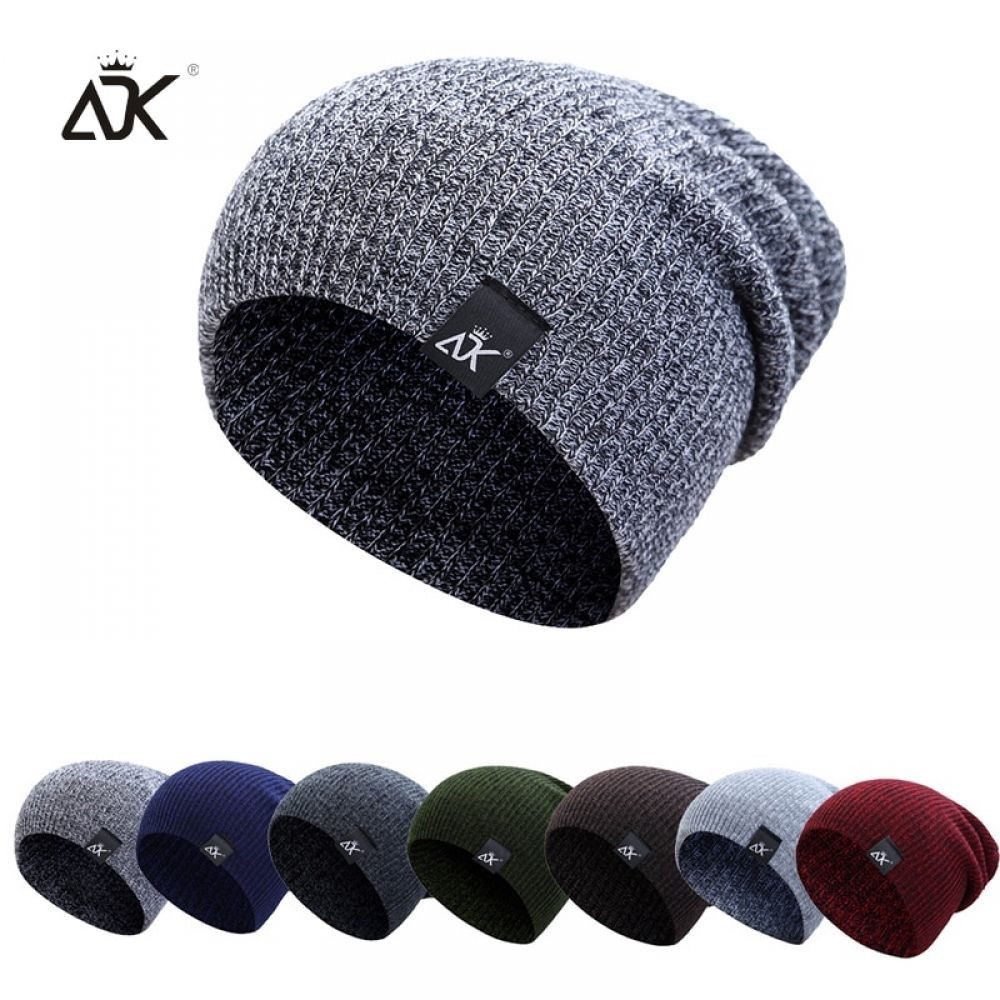 CLEARANCE SALE! Mixed Heather Slouchy Beanie Winter Ski Skully Heather Colors