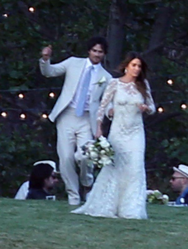 Nikki Reed & Ian Somerhalder Married — Wedding Photos ...