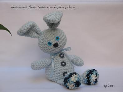 Amigurumis Conejos Paso A Paso : Conejo tejido a ganchillo o crochet amigurumi a crochet parte