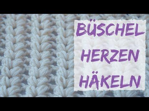 Einfachen Schal Häkeln Aus Büschelmaschen Einfachen Winterschal