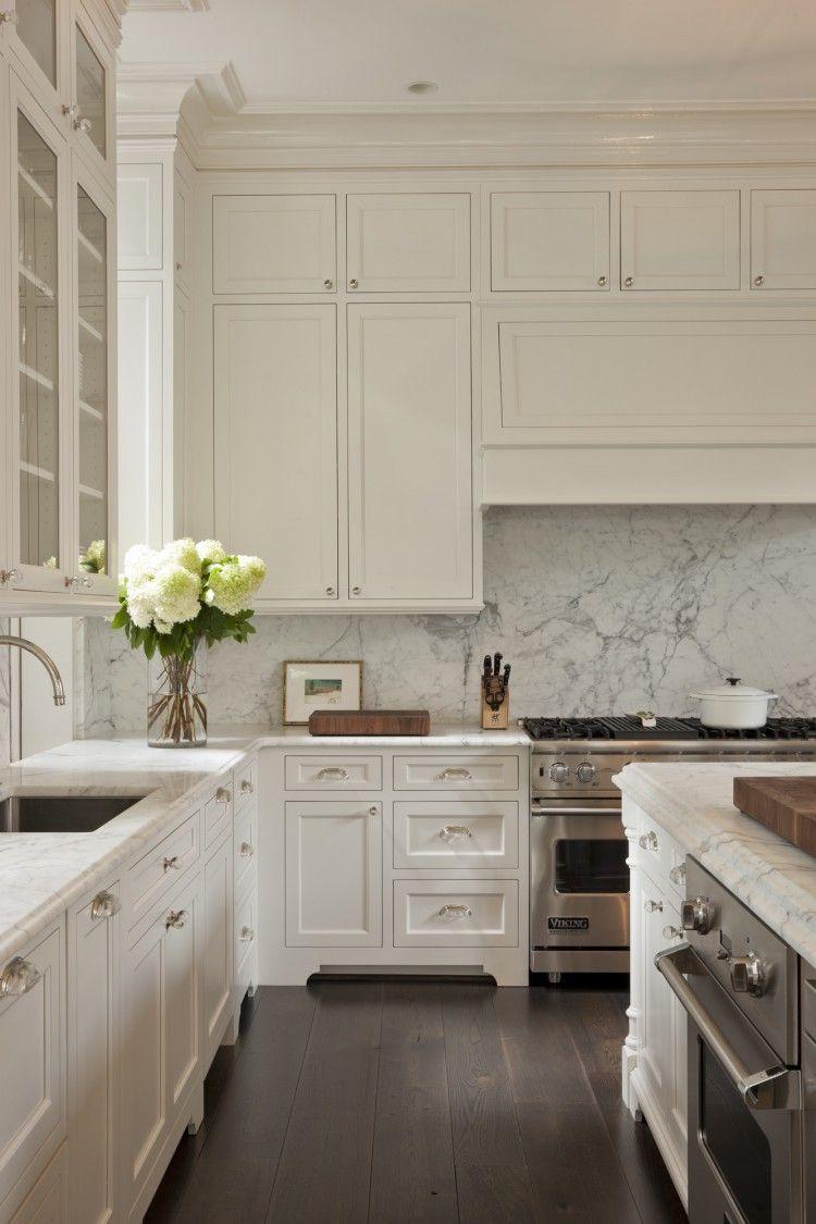 Kitchen, No Built-in Island And Backsplash Hex-tile