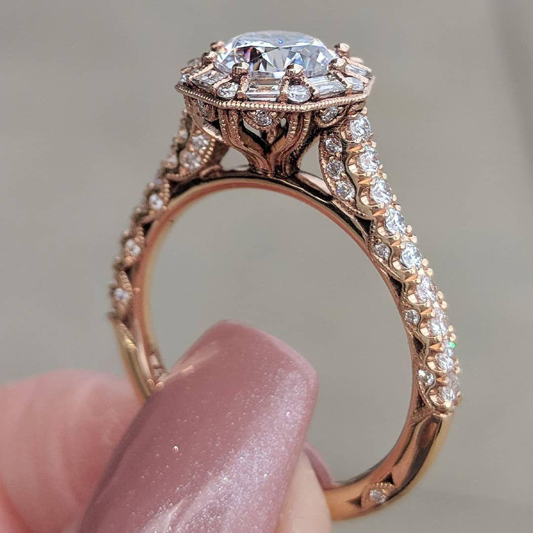 Ht2556rd65pk petite crescent rose gold round engagement