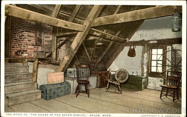 The Attic To The House Of The Seven Gables House Of Seven Gables