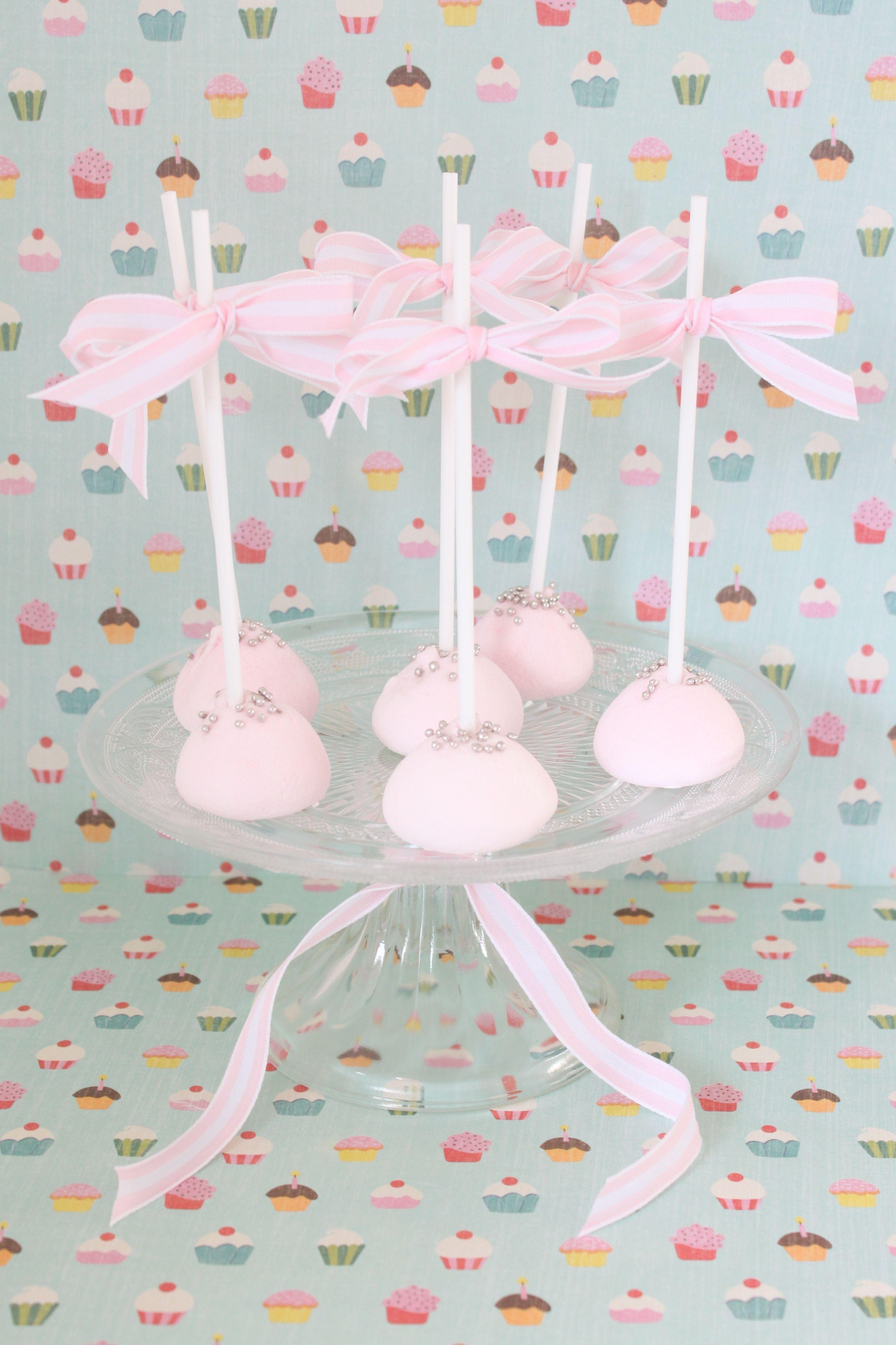 'Fairy Princess' Marshmallow Pops tutorial