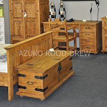 Pine bedroom furniture finished with a clear wax. Rood-Drew – Google+