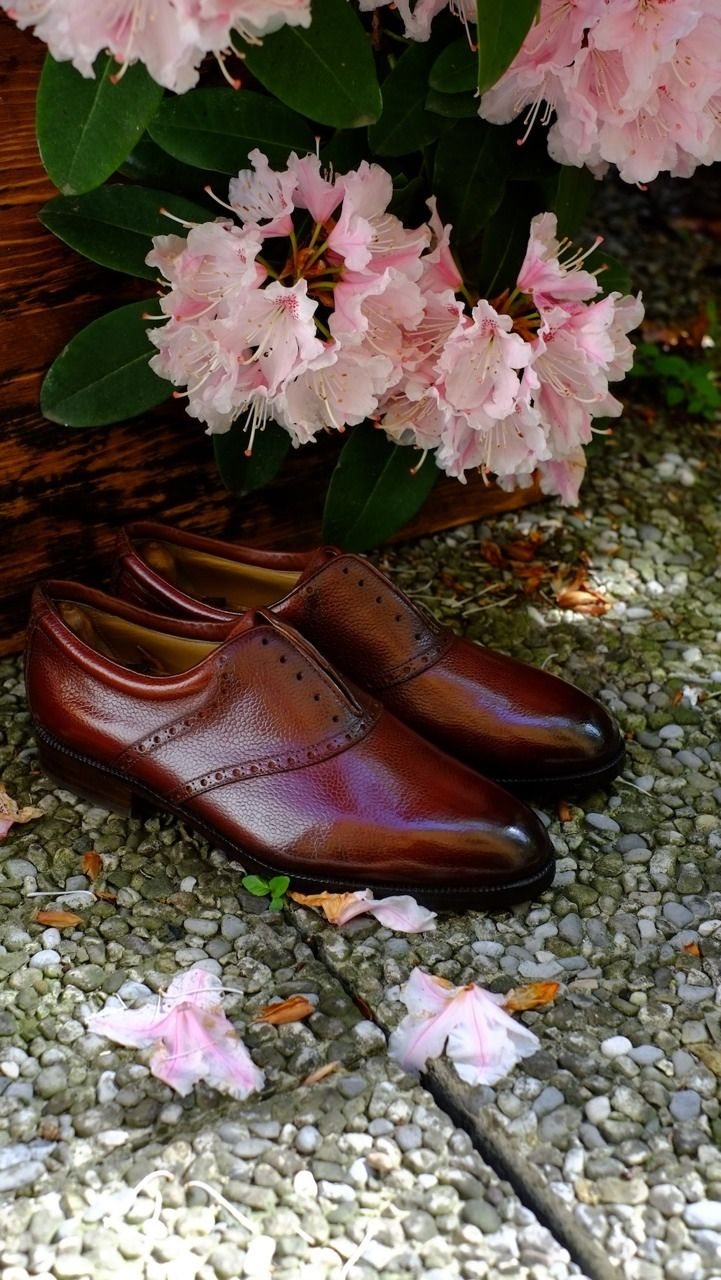 """Saddle Shoes """"Marcello"""", The new Patina by Dandy Shoe Care."""