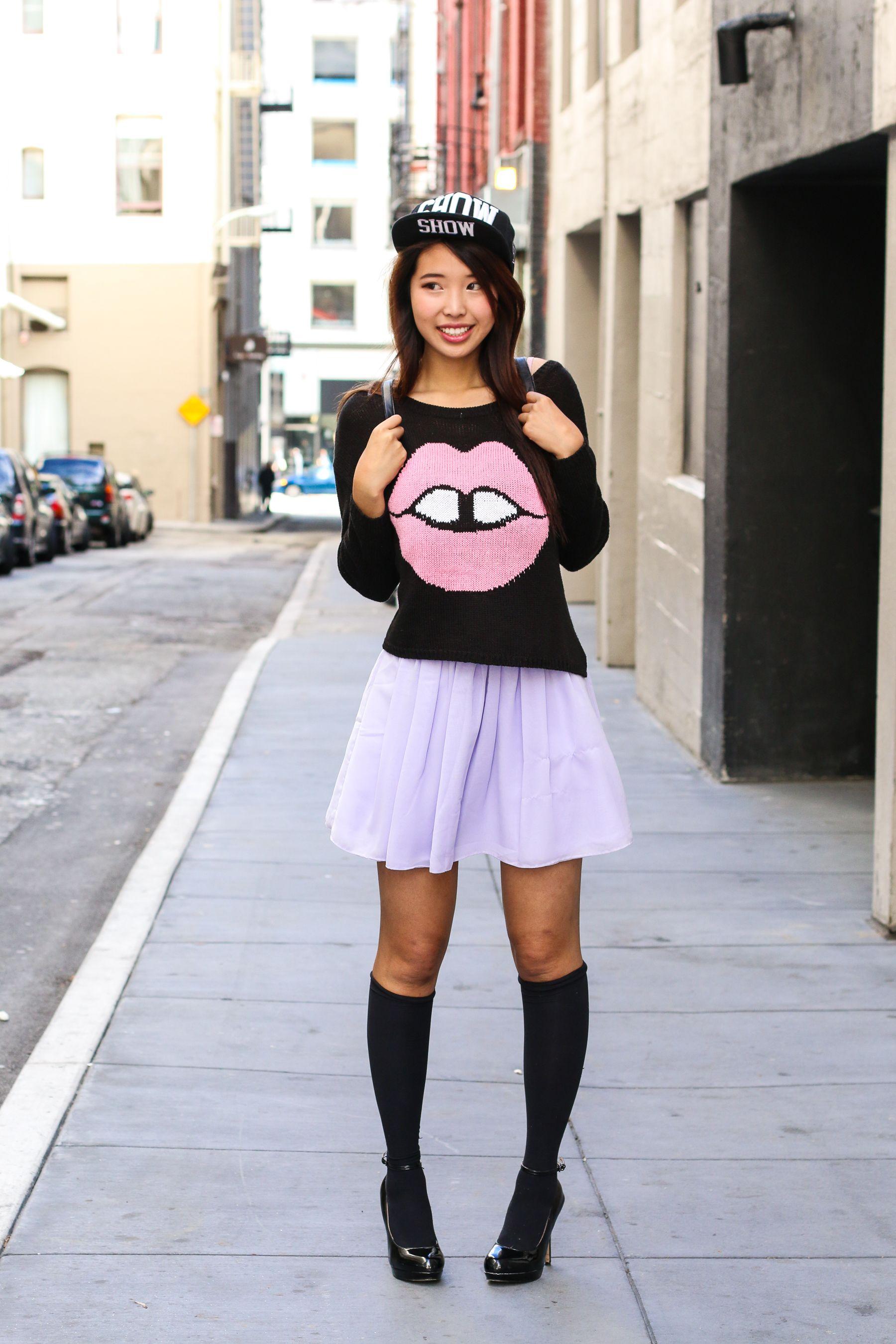 Asian girl street