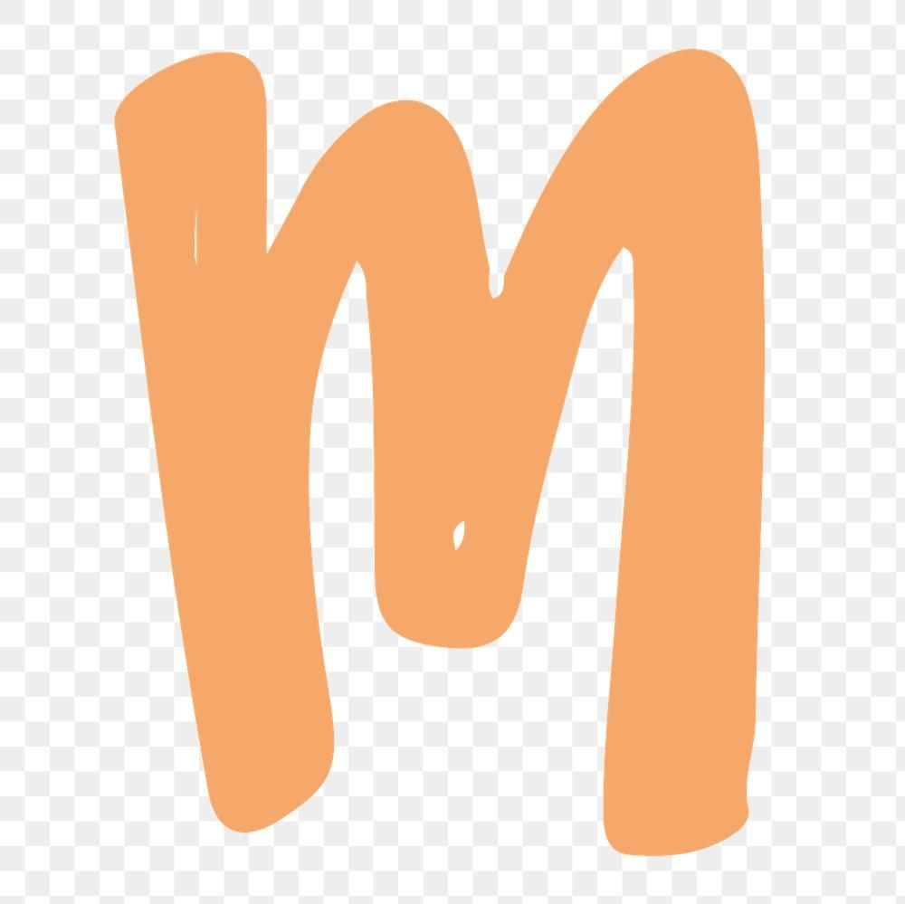 M Letter Png Doodle Alphabet Typography Free Image By Rawpixel Com Aum Doodle Alphabet M Letter Typography