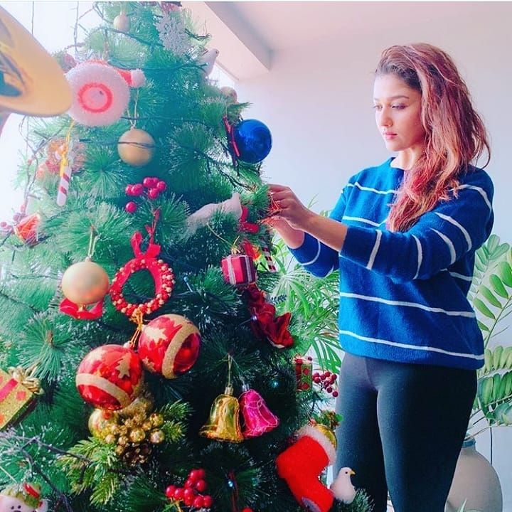 Pin by Gowri on Nayantara in 2020 Christmas, Indian