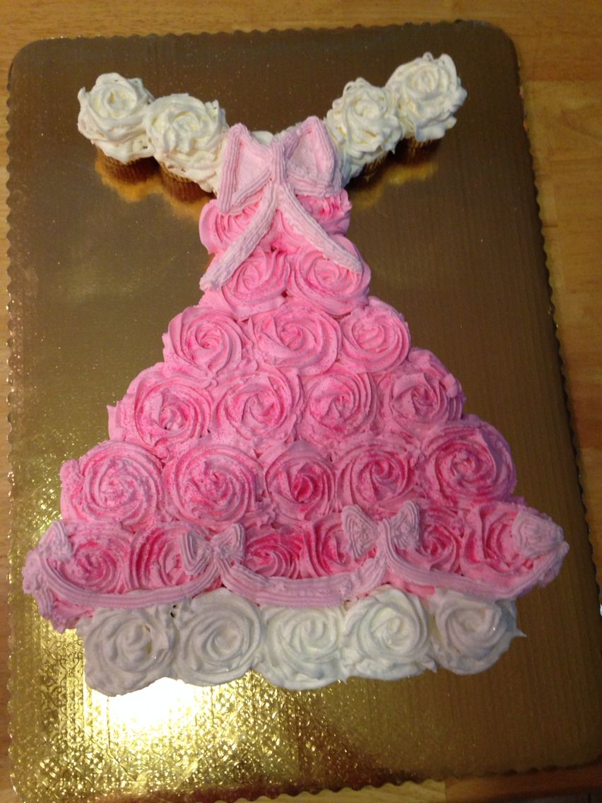 Princess Aurora cupcake dress Cakes and other desserts