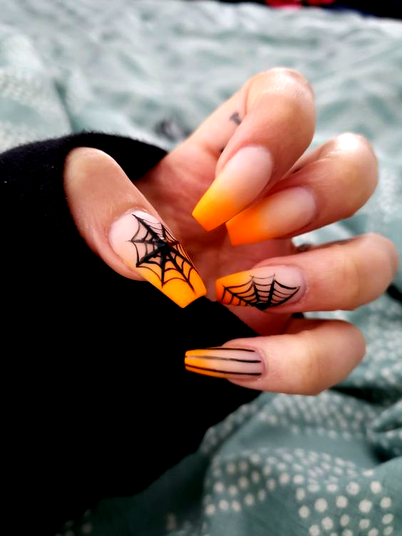 #coffinnails #halloween in 2020 | Cute halloween nails ...