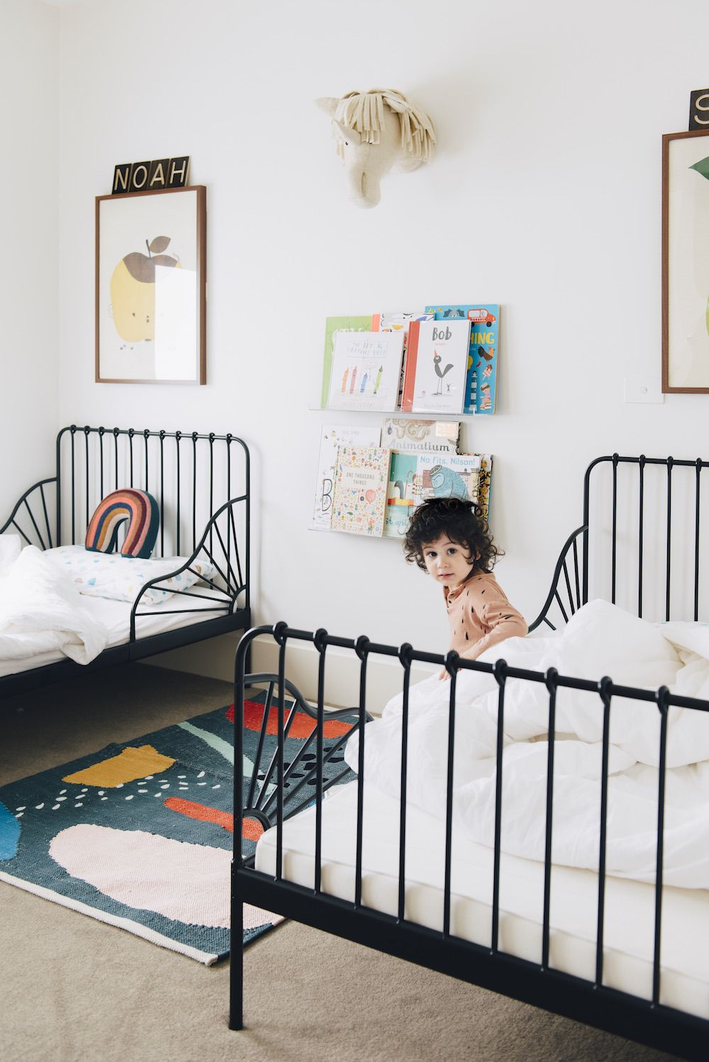 A Pretty Melbourne Home A Cup Of Jo Kids Shared Bedroom Kid