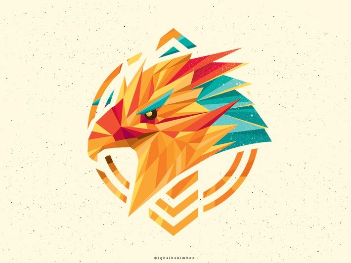 20 creative polygon logo style logo brand pinterest logo
