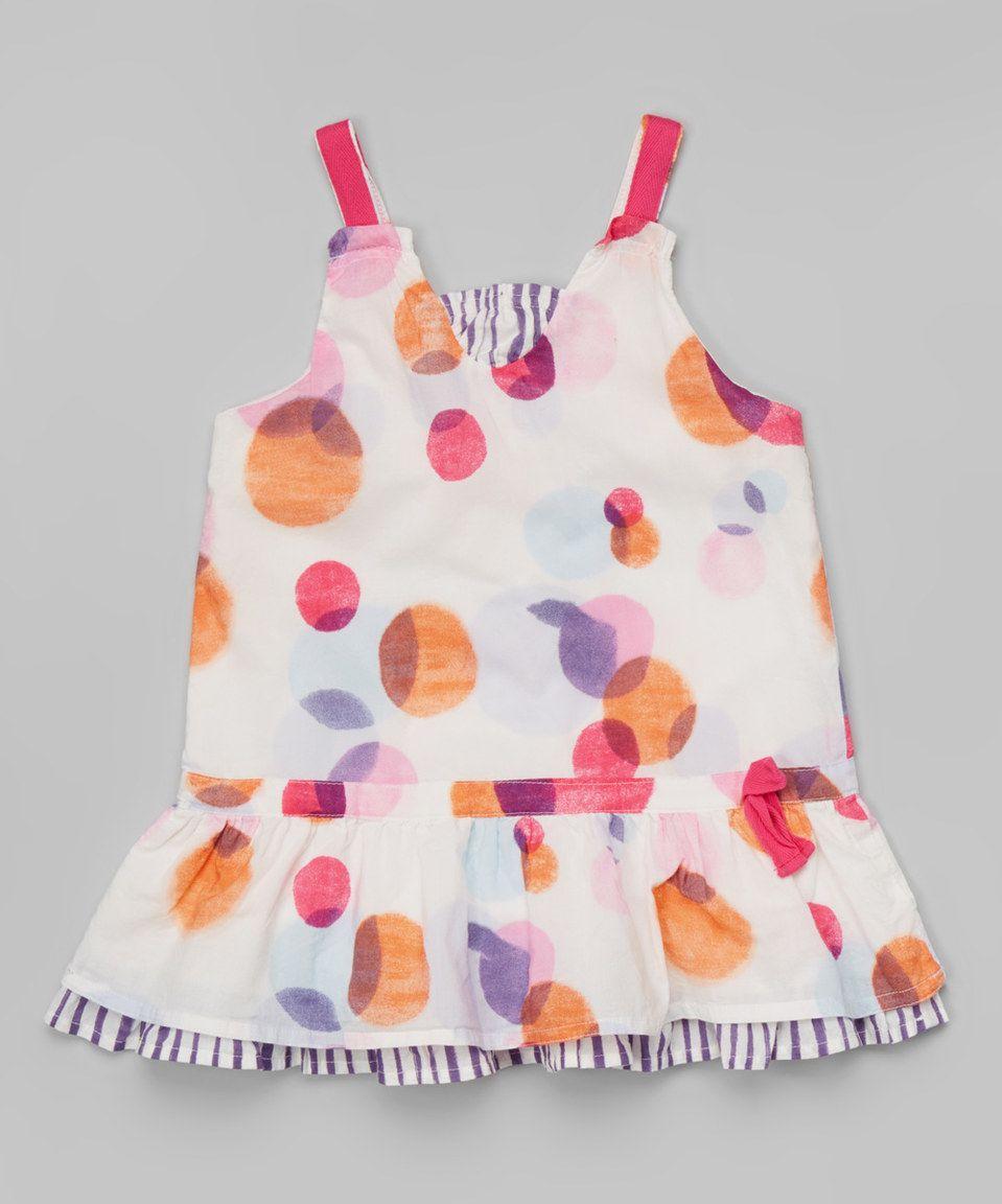 Pink & Purple Circle Dress - Toddler & Girls by Leighton Alexander #zulily #zulilyfinds