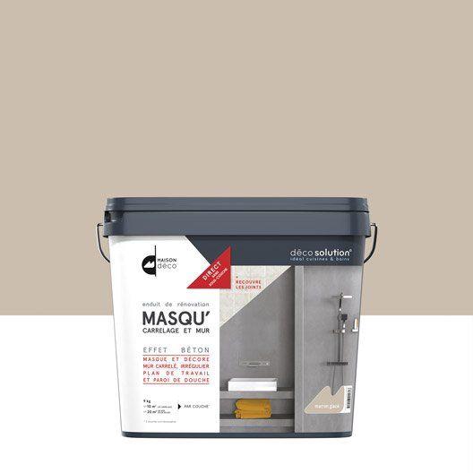 Enduit Masqu Carrelage Et Mur Maison Deco Marron Glace 9kg Carrelage Masque Carrelage Carrelage Mural