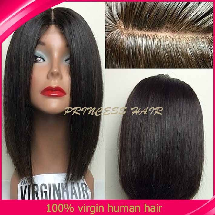 New-ArrIval-Cheap-Human-bob-Hair-bob-Wig-Brazilian-Real-Hair-Lace ...