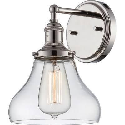 FREE SHIPPING. Purchase the industrial Vintage Wall Sconce Bronze for your bathroom or hallway lighting today at lightingconnection.com. Nuvo Lighting 60-5513