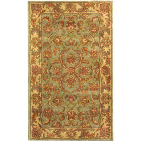 Safavieh Heritage Cheshunt Hand-Tufted Wool Area Rug, Gold