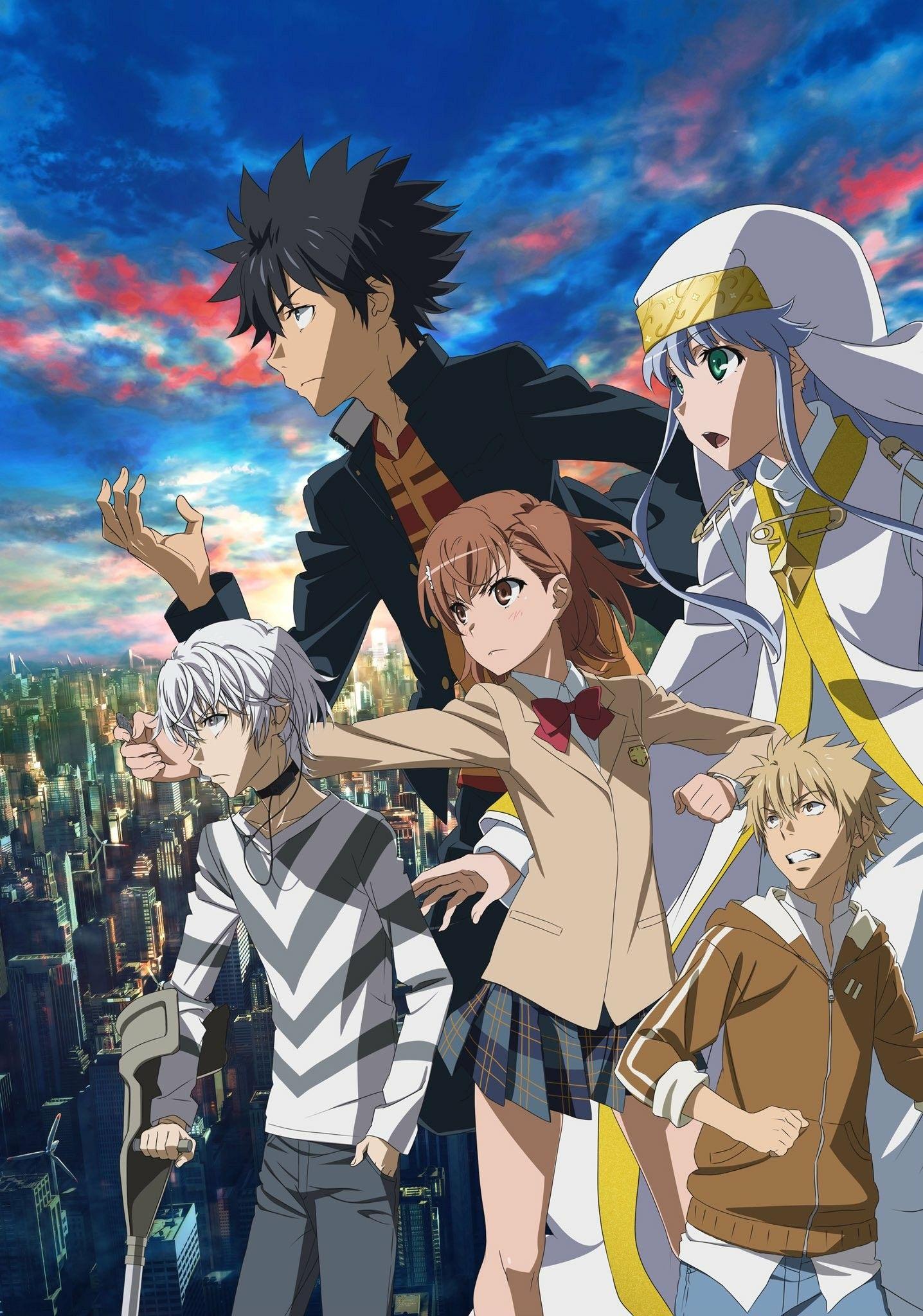 A Certain Magical Index Iii Anime Latest Anime A Certain