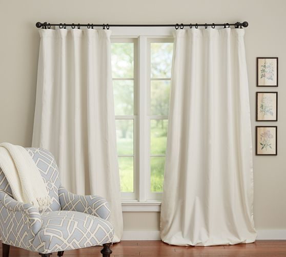 Velvet Amp Silk Border Drape Blackout Drapes Curtains Home Decor