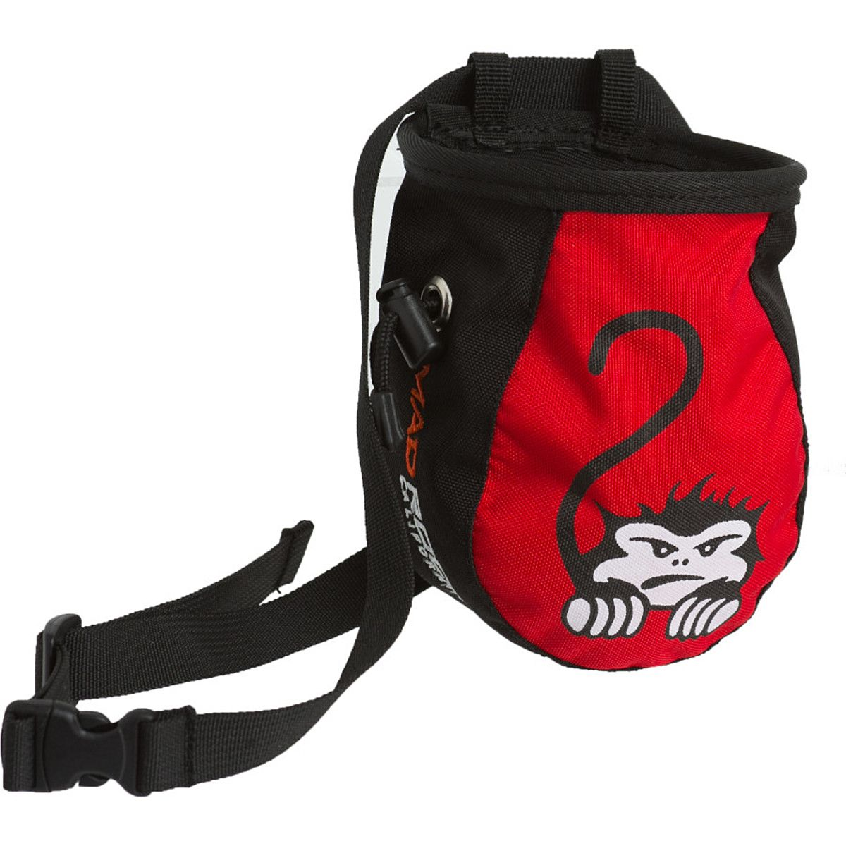 Mad Rock Kids Chalk Bag Crouching Monkey Red One Size Mad Rock