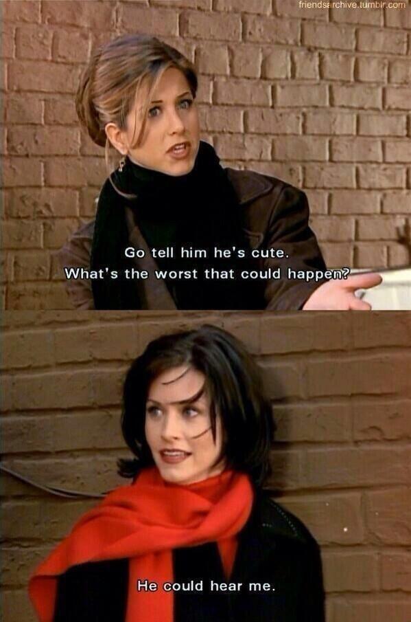 Friends Tv Show Funny Quotes Quotesgram Friends Tv Show Quotes Tv Show Quotes Awkward Girl