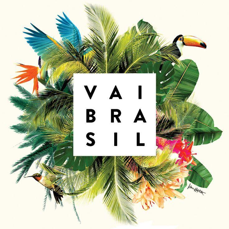 Vai Brasil By Karen Hofstetter Logo Design Pinterest