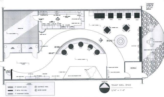 Coffee Shop Floor Plan Layout Interior Design Ideas 평면도 카페